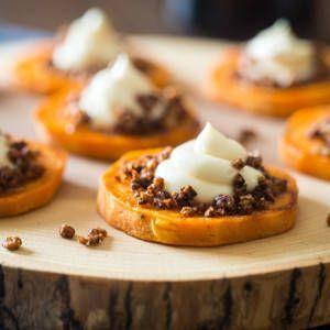 Roasted Sweet Potato Pie Bites   Food Faith Fitness - #Bites #Faith #Fitness #Food #Pie #Potato #Roa...
