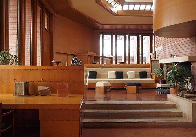 Wingspread Interior Frank Lloyd Wright Frank Lloyd Wright Homes