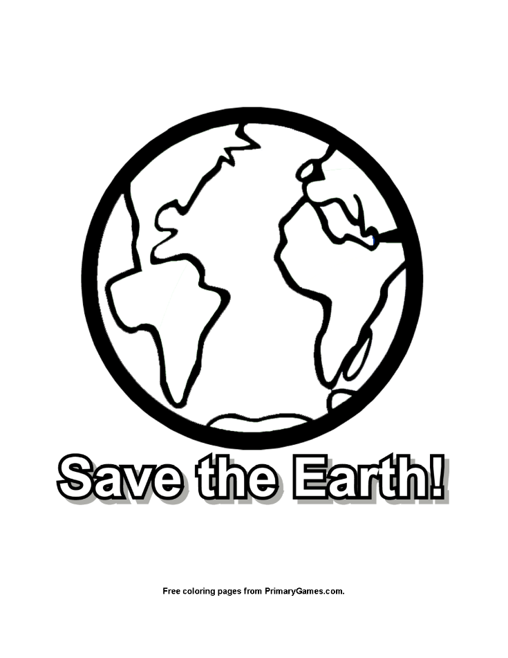 Save The Earth Coloring Page Free Printable Ebook Earth Coloring Pages Save Earth Planet Coloring Pages