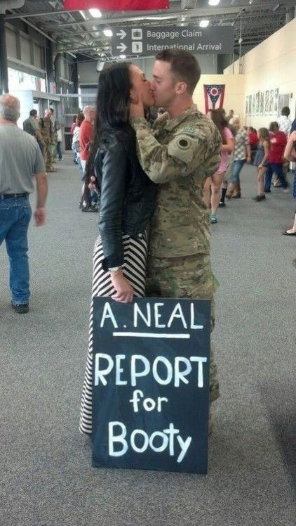 If You Have A Loved One Who Will Soon Return From Deployment Make