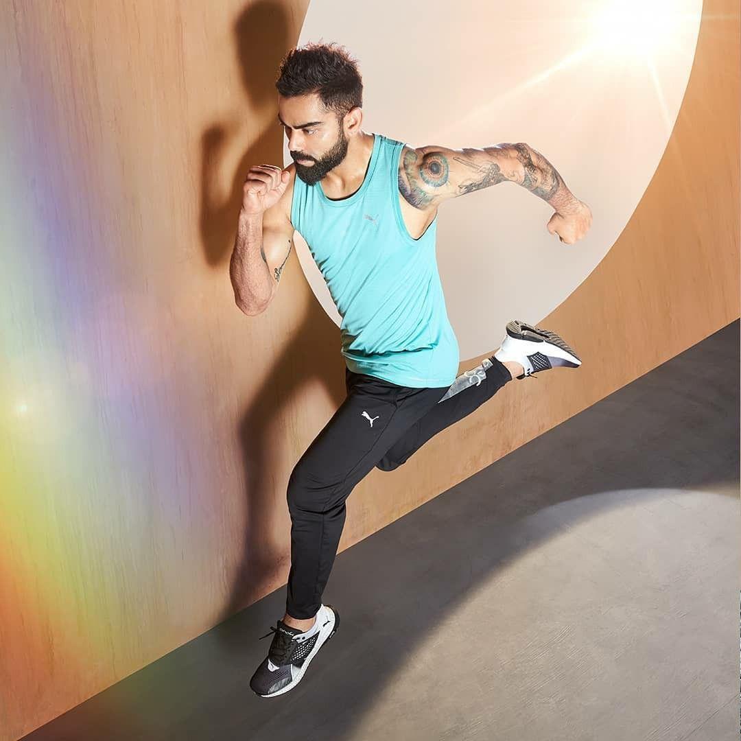 Fitness of Virat Kohli #ViratKohli #Fitness #Virat #Instagram #Pinterest #IndianCricketTeam #Cricket...