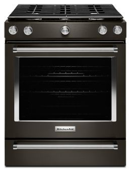 Phenomenal 30 Inch 5 Burner Gas Slide In Convection Range Ksgg700Ess Download Free Architecture Designs Embacsunscenecom