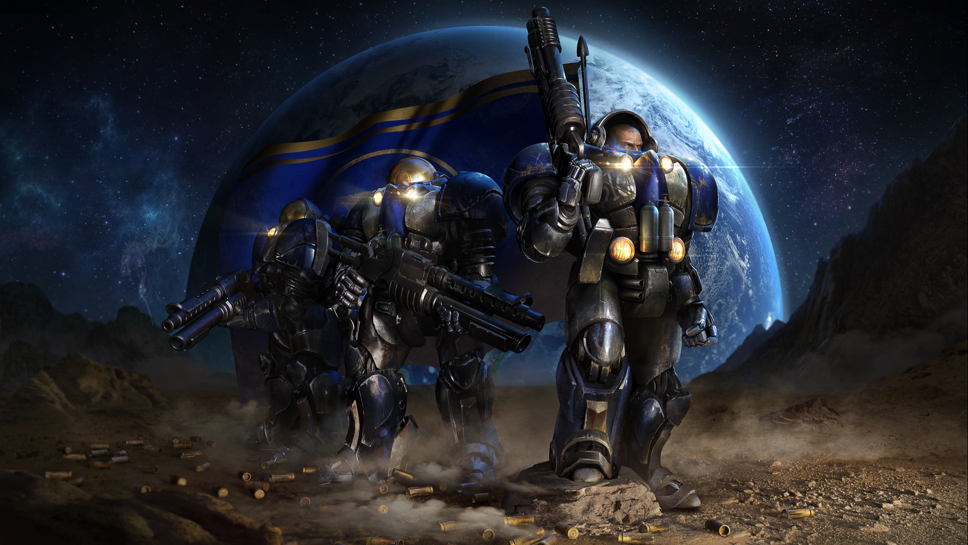 Your new wallpapers are ready games Starcraft Starcraft SC