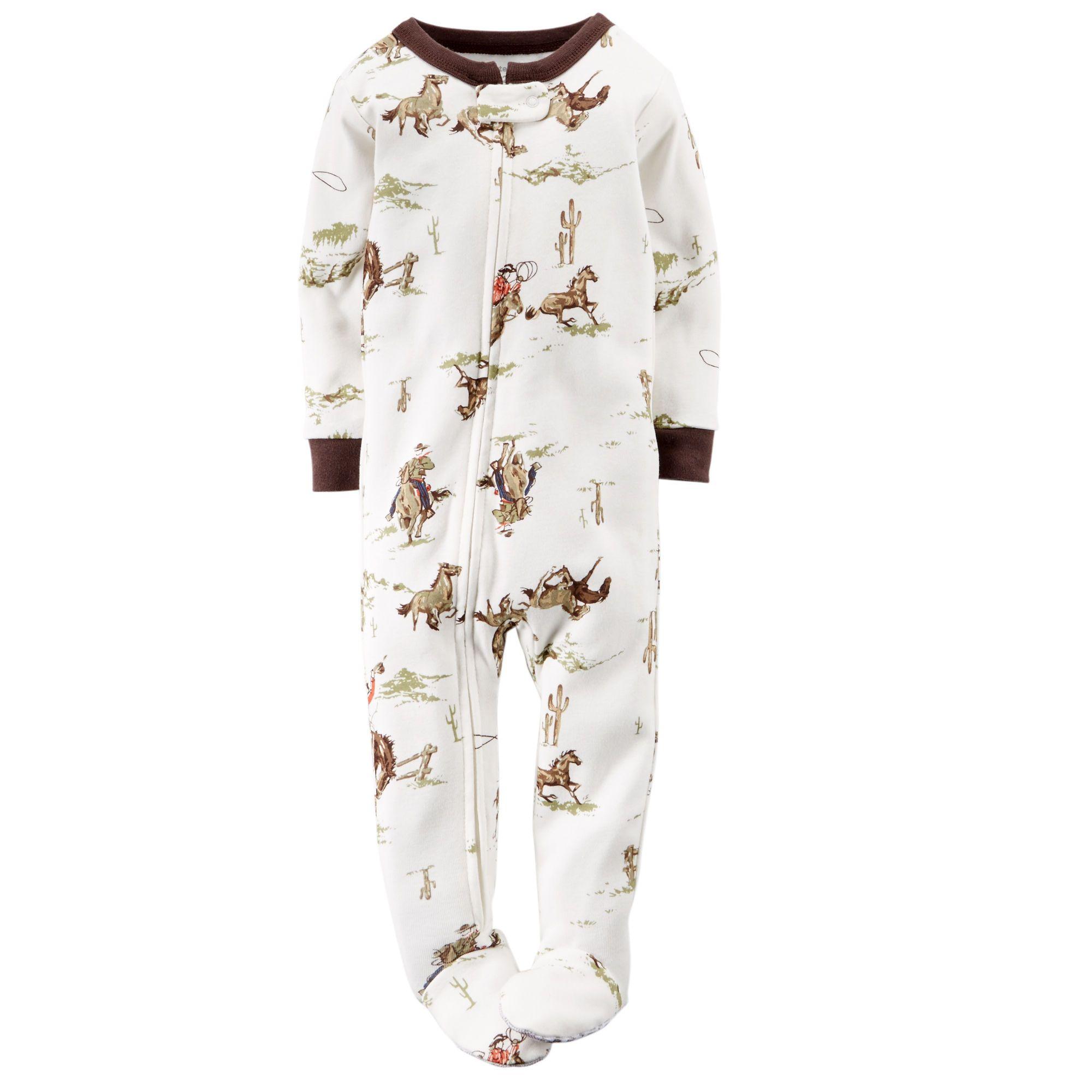 1-Piece Snug Fit Cotton PJs | Carters.com