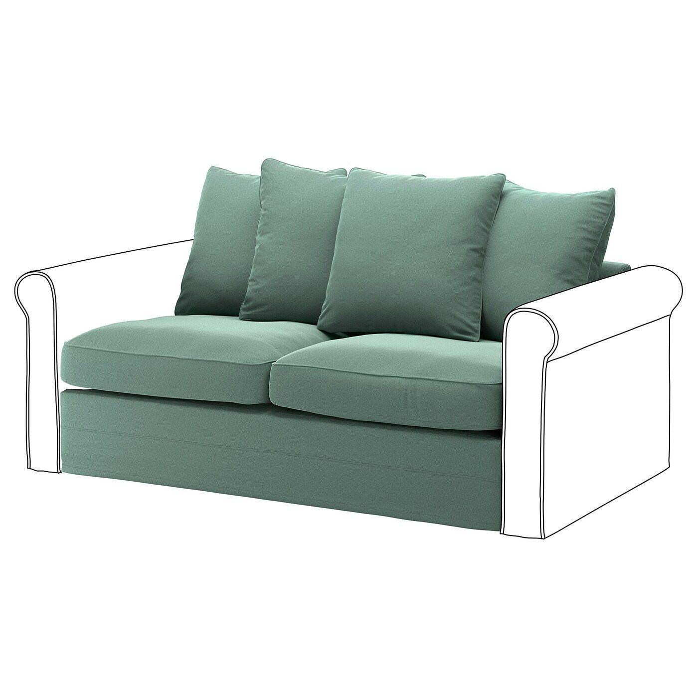Gronlid Funda Sofa Cama 2 Ljungen Verde Claro In 2020 Kleines