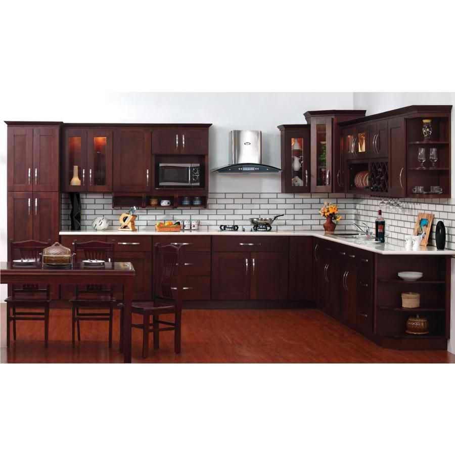 Shaker Style Dark Kitchen with Subway Tile Kitchen. Kitchen Cabinets Refrigerator. Galley Kitchen Remodel for Small Space Fridge Gallery Kitchen. Above Fridge Cabinet Ideas Google Search Home
