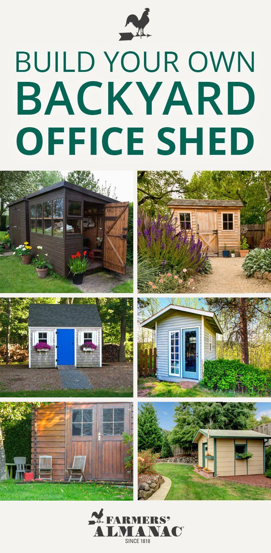 Build A Backyard Office Shed | Backyard office, Shed ...