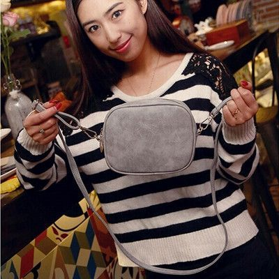 Brand Women's Frosted Handbag Vintage Women Messenger Bag Fashion Shoulder Bag Lady Crossbody Bags Bolsa Feminina