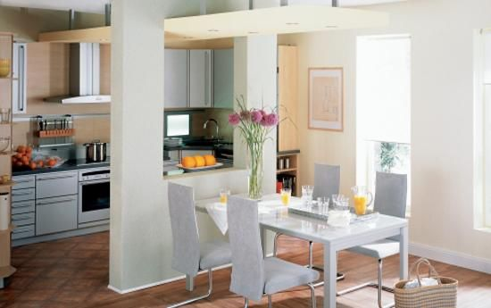 Creative Partition Wall Design Ideas Improving Open Small Spaces ...