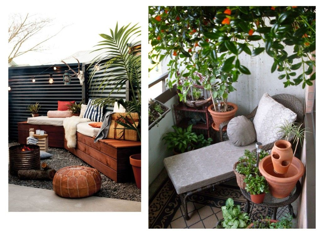 5 consejos para decorar balcones peque os con encanto - Muebles con encanto ...