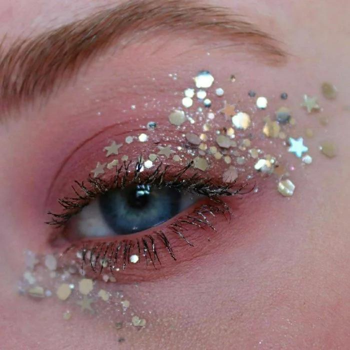 15 Maquillajes con estrellas para crear tu propia
