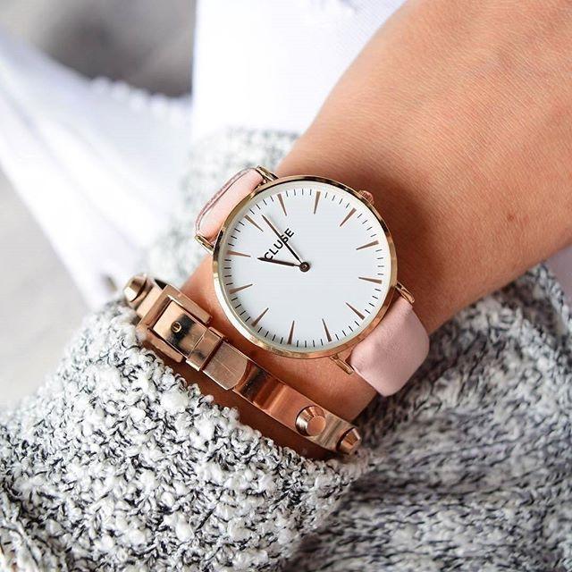 Arm Party Rose Gold Bracelet #fashion #style #watches #rosegold #delicatebracelet - 29,90  @happinessboutique.com