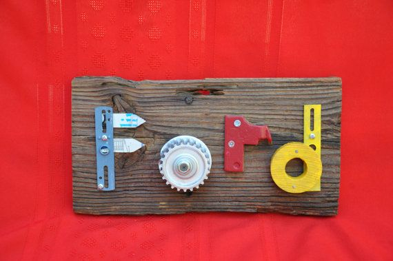 Ford Sign Car Parts Sign Man Cave Funky Wall Art Barn Board Sign Wood  Salvage Art