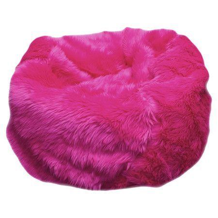 Fuzzy Bean Bag Chair Pink Bean Bag Bean Bag Chair Bedroom Bean Bags