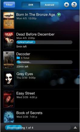 DIRECTV GenieGO DVR Android The secret book, Broadband