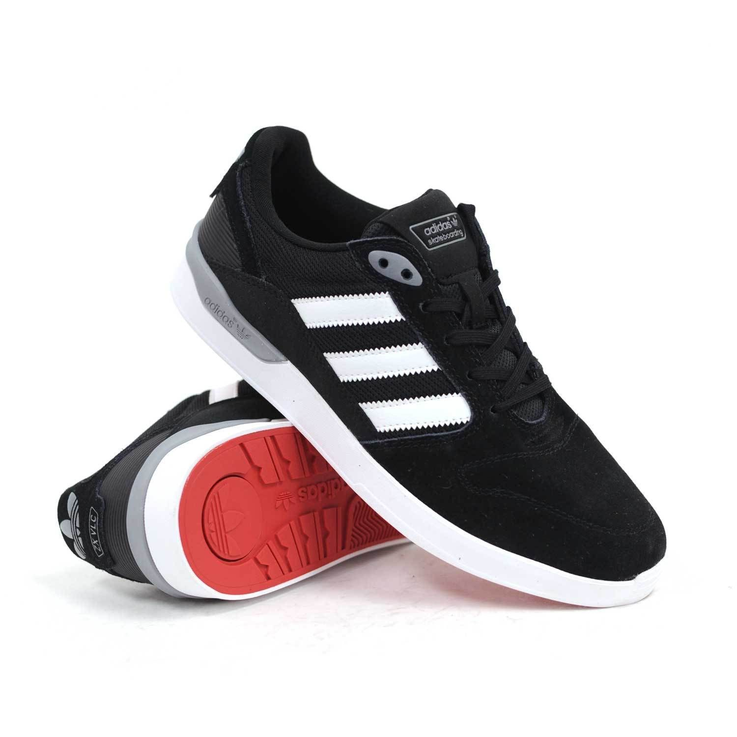 adidas ZX Vulc Skate shoes Black : C75184 - LeisurelyThreads