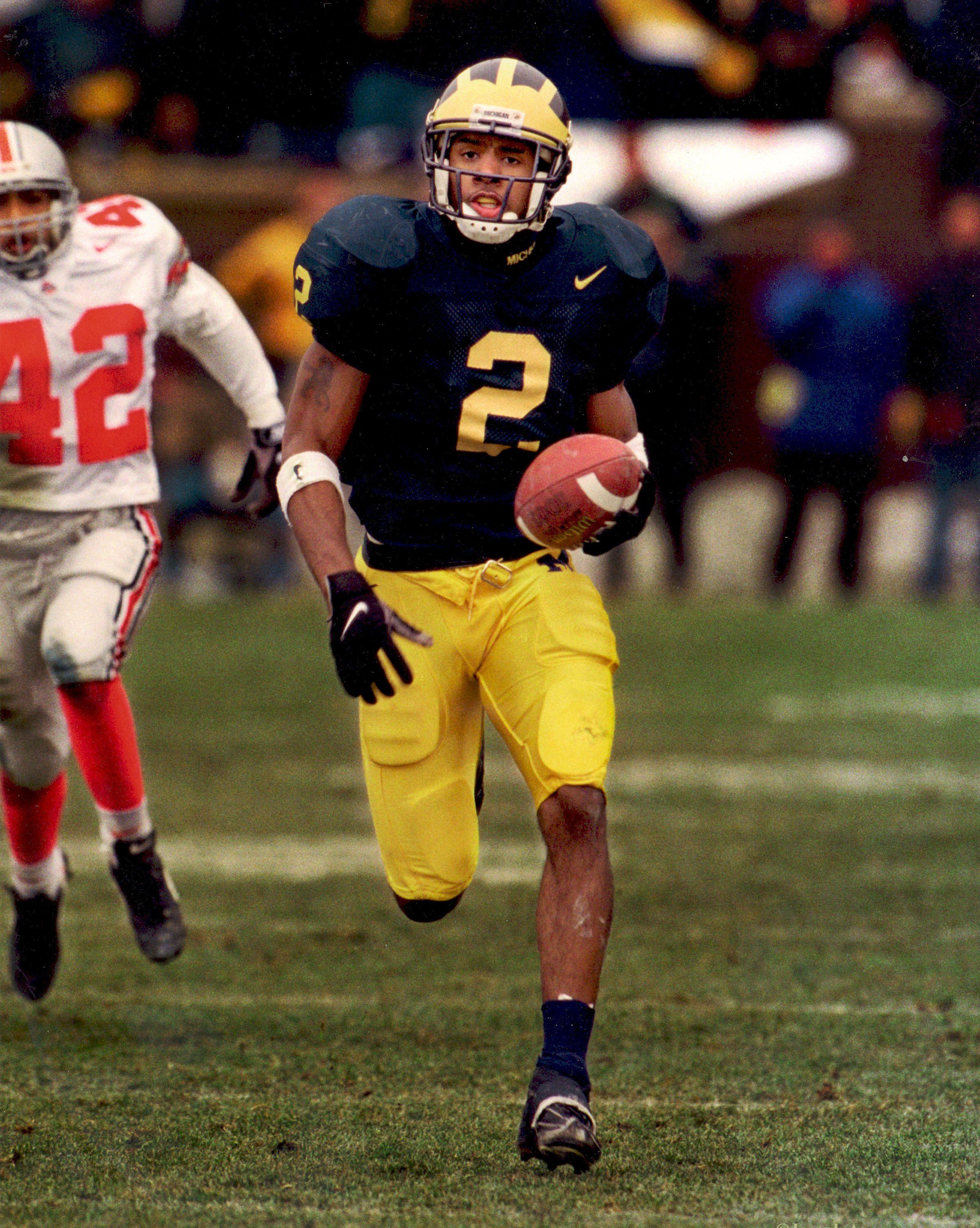 1998 Nfl Draft Charles Woodson Cb Round 1 Pick 4 Michigan