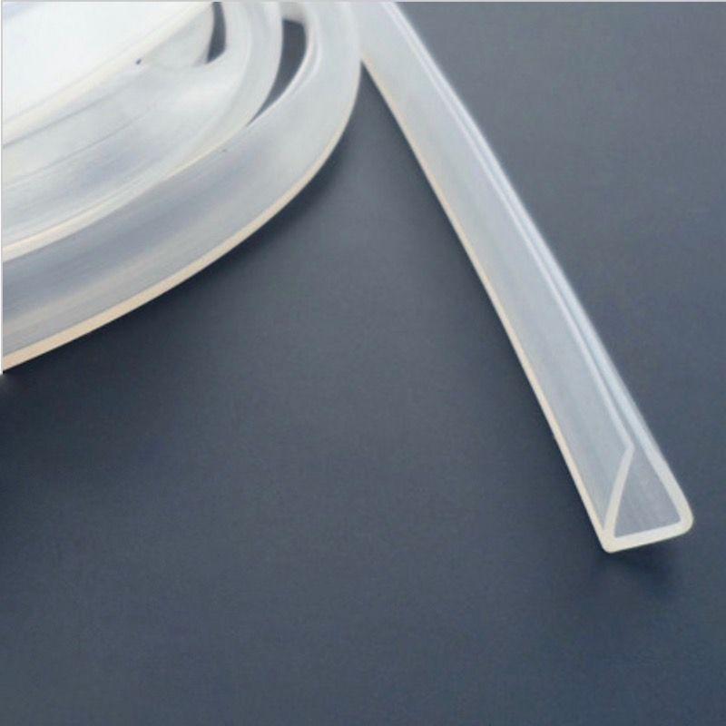 Silicon Rubber U Strip Edge Shield Encloser Bound Glass Metal Wood Panel Board Sheet 0 5mm 1mm 3mm 5mm 10mm X 1m Transparent Wood Paneling Glass Paneling