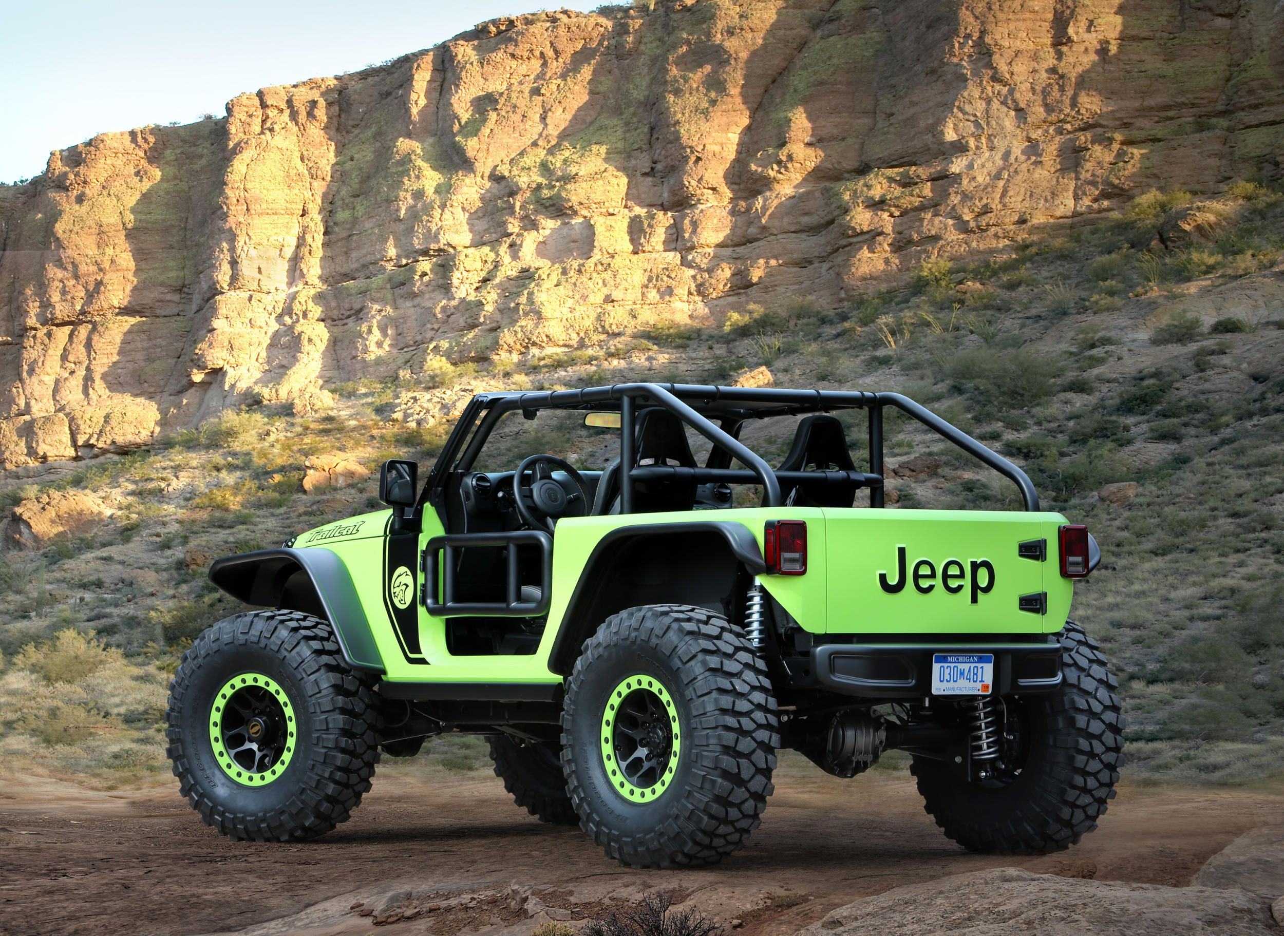 Jeep reveals its latest lustworthy concepts at the 50th Annual Easter Jeep Safari - Acquire