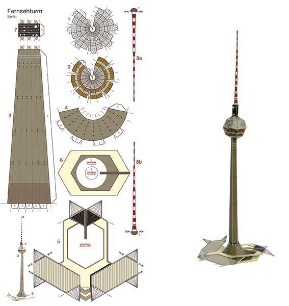 Berliner Fernsehturm Zum Ausdrucken   BERLINGERMAN