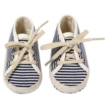Striped sneaks... too cute!