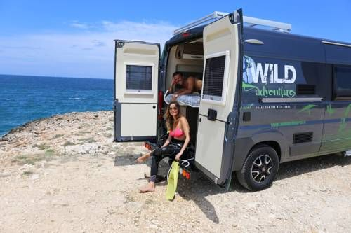 Wild Adventures Whatever Whenever Bari Wild Adventures Whatever Whenever offers a caravan, 6 km from the centre of Bari. After check-in, guests can travel freely.  The caravan comes with air conditioning, a bathroom and kitchen facilities including a refrigerator and stovetop.