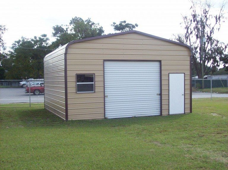 20 x 21 x 10 Garage Metal garages, Metal buildings
