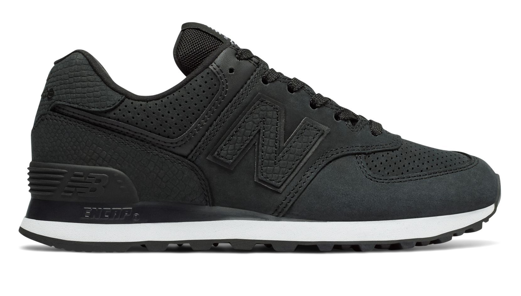 New Balance 574 Serpent Luxe, Black   School shoes, Sneakers, Shoes