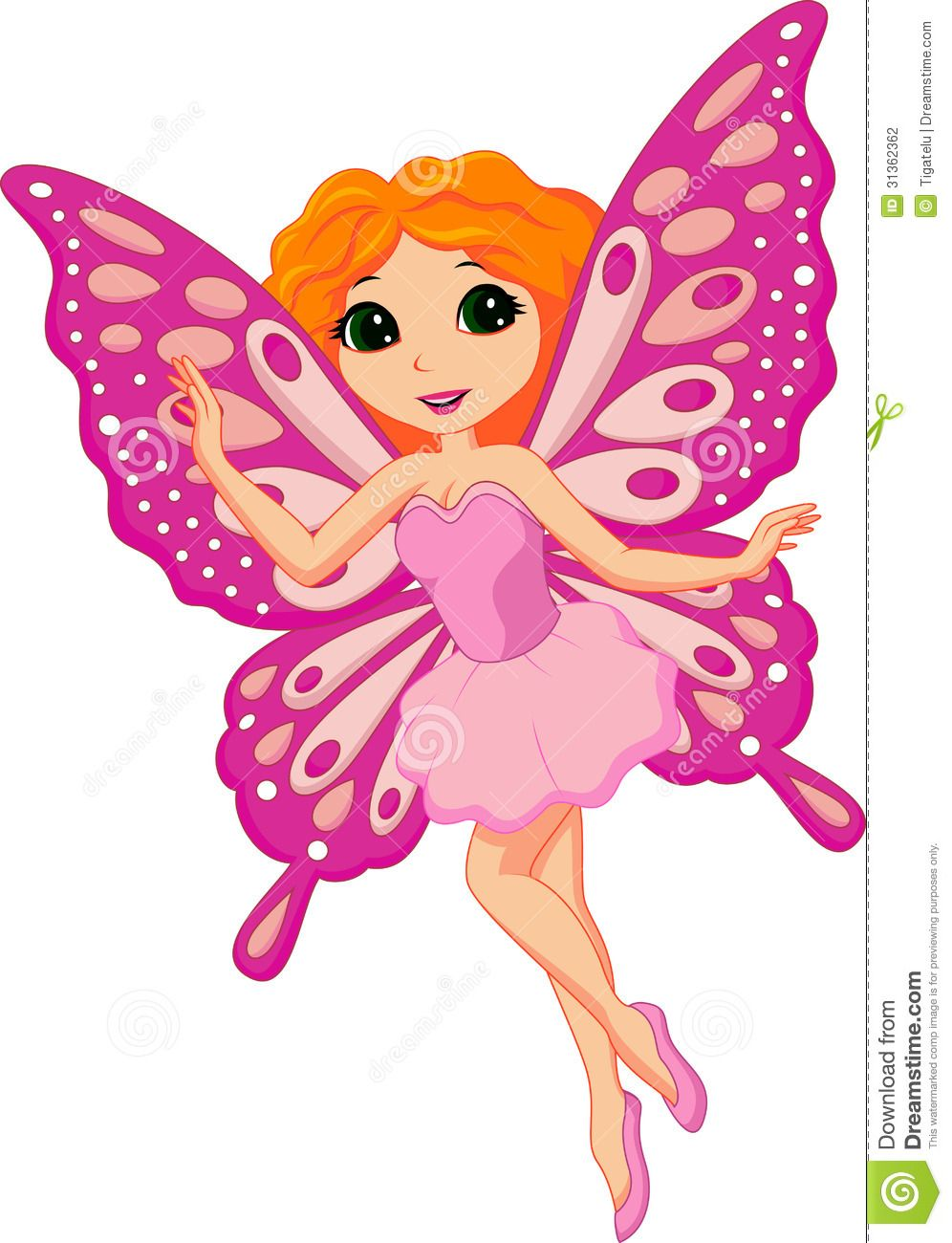 Beautiful pink fairy cartoon download from over 30 million high quality stock photos images - Beauti ful carteans pic hd ...