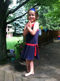 Kids' Holy Yoga: Happy 4th of July & Eagle Pose. Find out more about Kids' Holy Yoga at holyyoga.net/kids. #holyygoa #kidsholyyoga @holyyoga  #kidsyoga