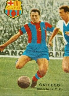 Gallego of Barcelona in 1961.