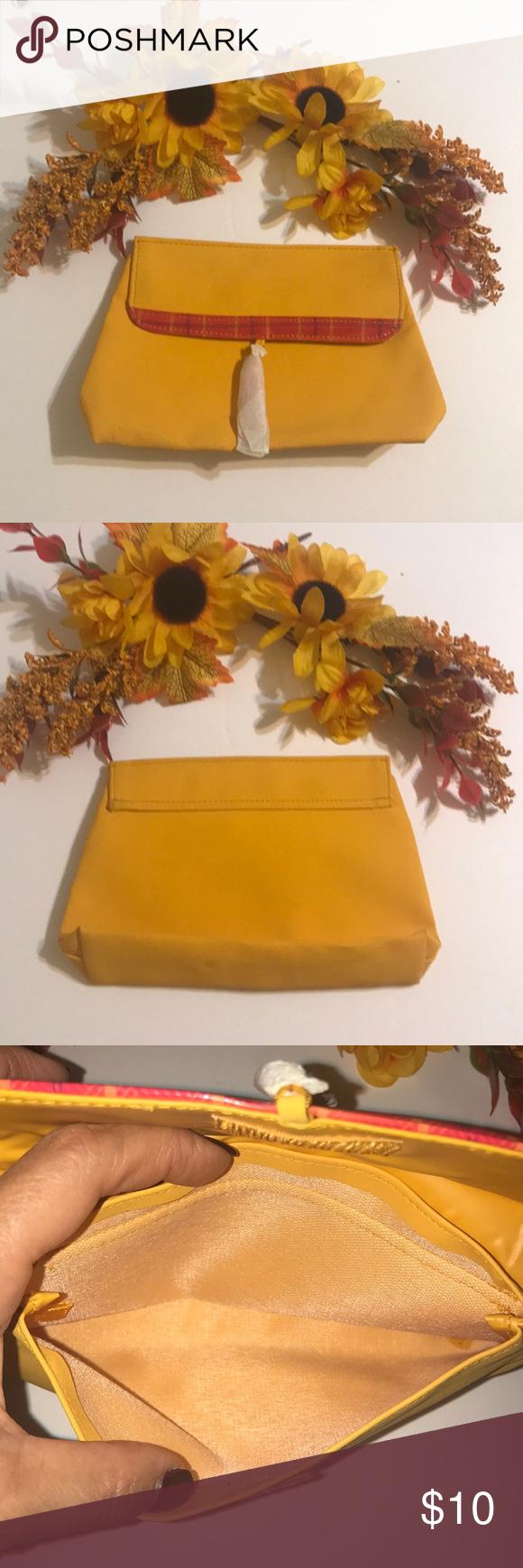 SALE 5 x 25! Yellow Mustard Cosmetics Bag Cosmetic bag