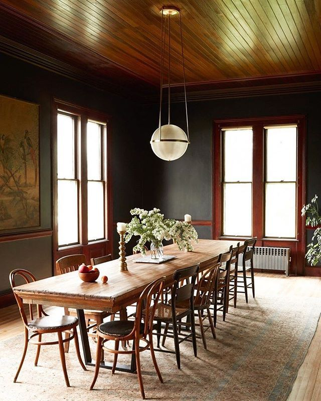 Countertop Dining Room Sets: Ultimate Dining Inspiration: A Table Crafted From An Old