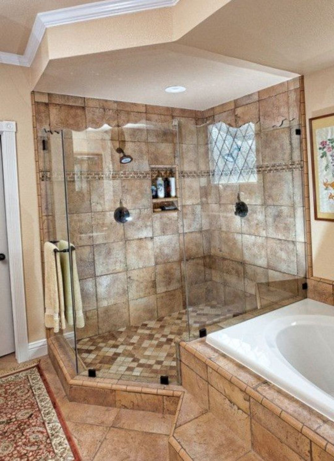 Best 65 Luxurious Master Bathroom Design Ideas For Amazing 400 x 300