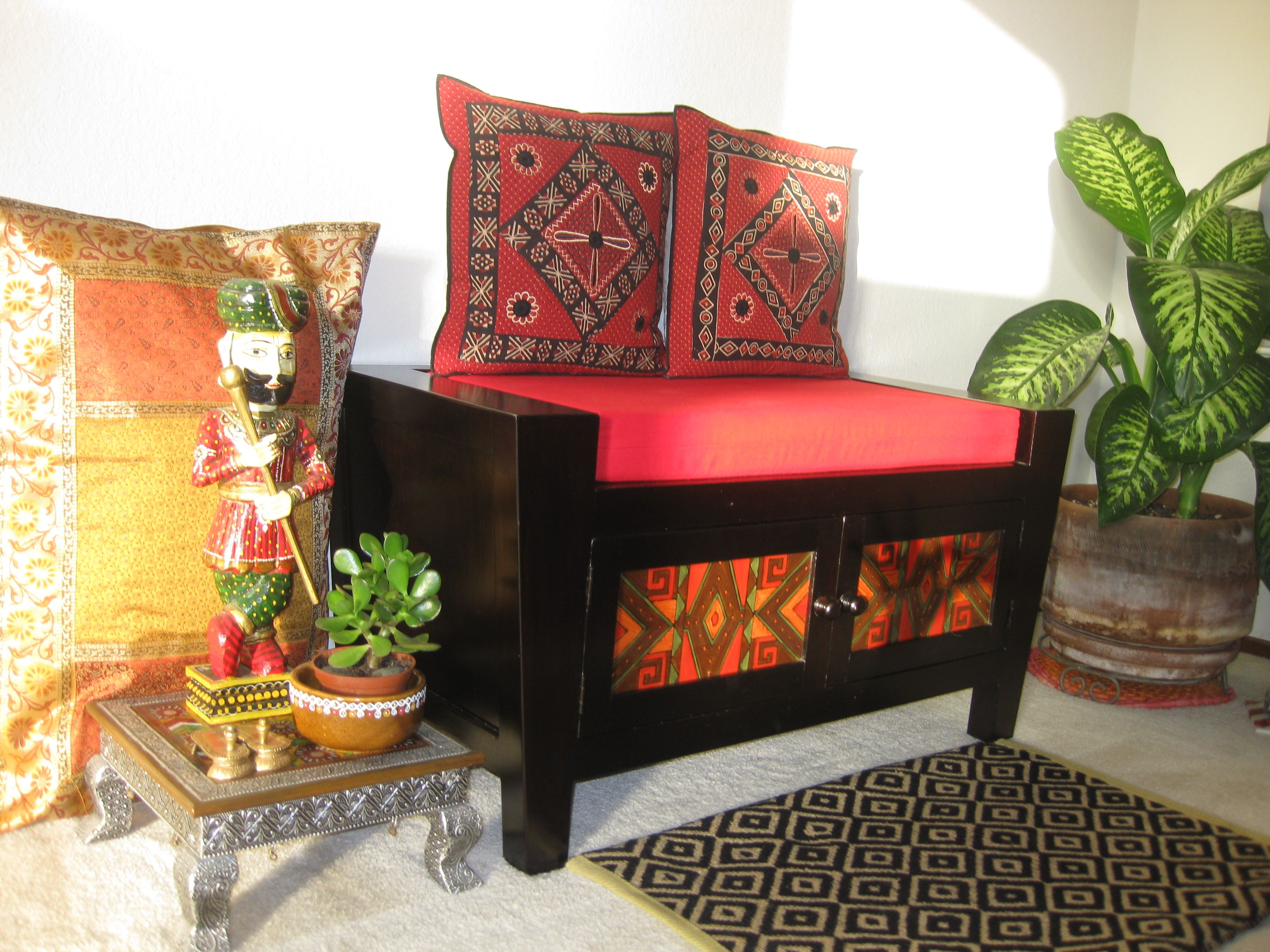 This #classic #Indian living room setting captivated our hearts and ...