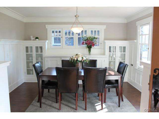 Craftsman Dining Room Interior Details And Moldings In 2019