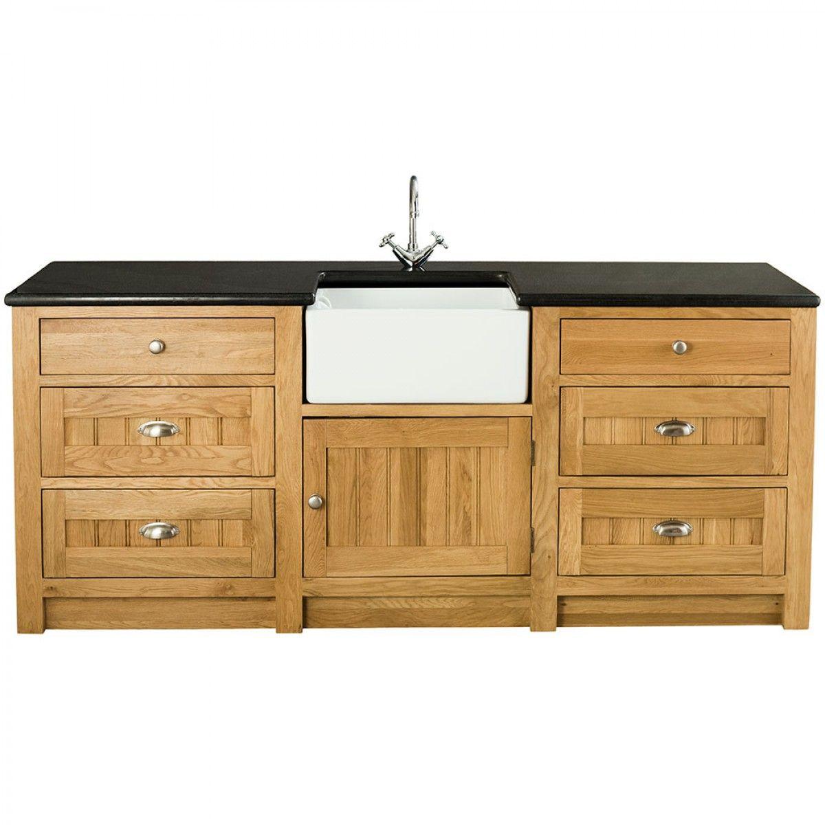 Orchard Oak 1 Door6 Drawer Sink Cabinet 2130X665X900Mm  Sinks Interesting Sink Cabinet Kitchen Inspiration Design