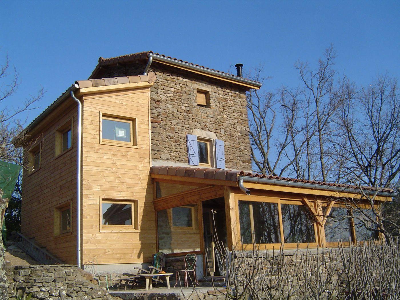 construction bois ardeche