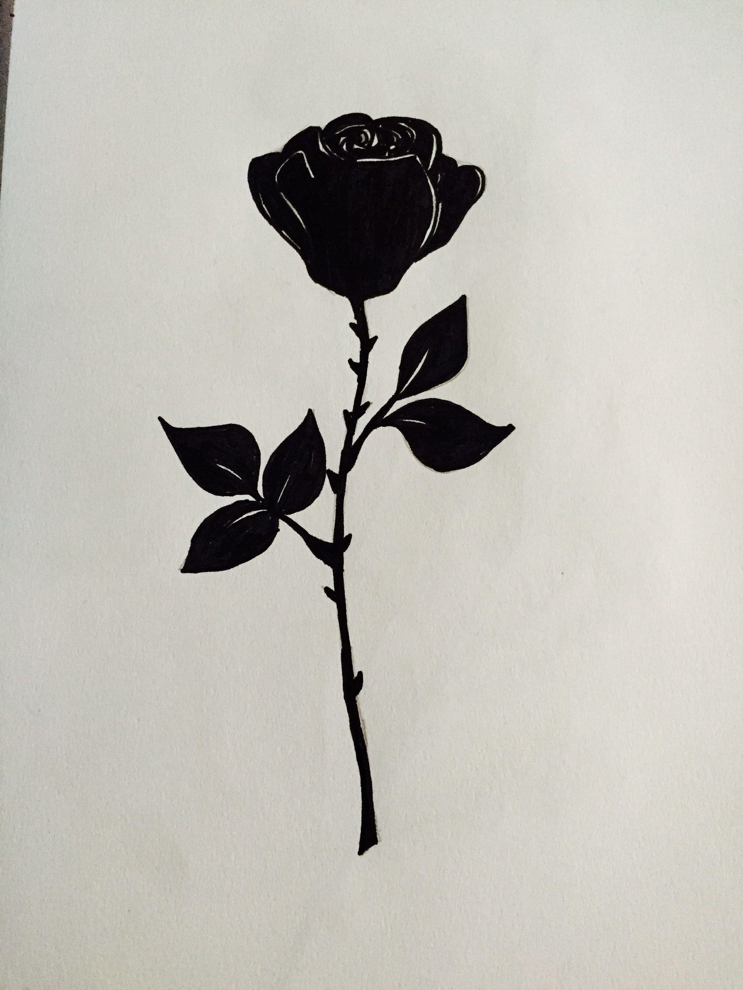 Pin De Onur Tepe Em Vektor All Tatuagem Rosa Preta Tatuagem No