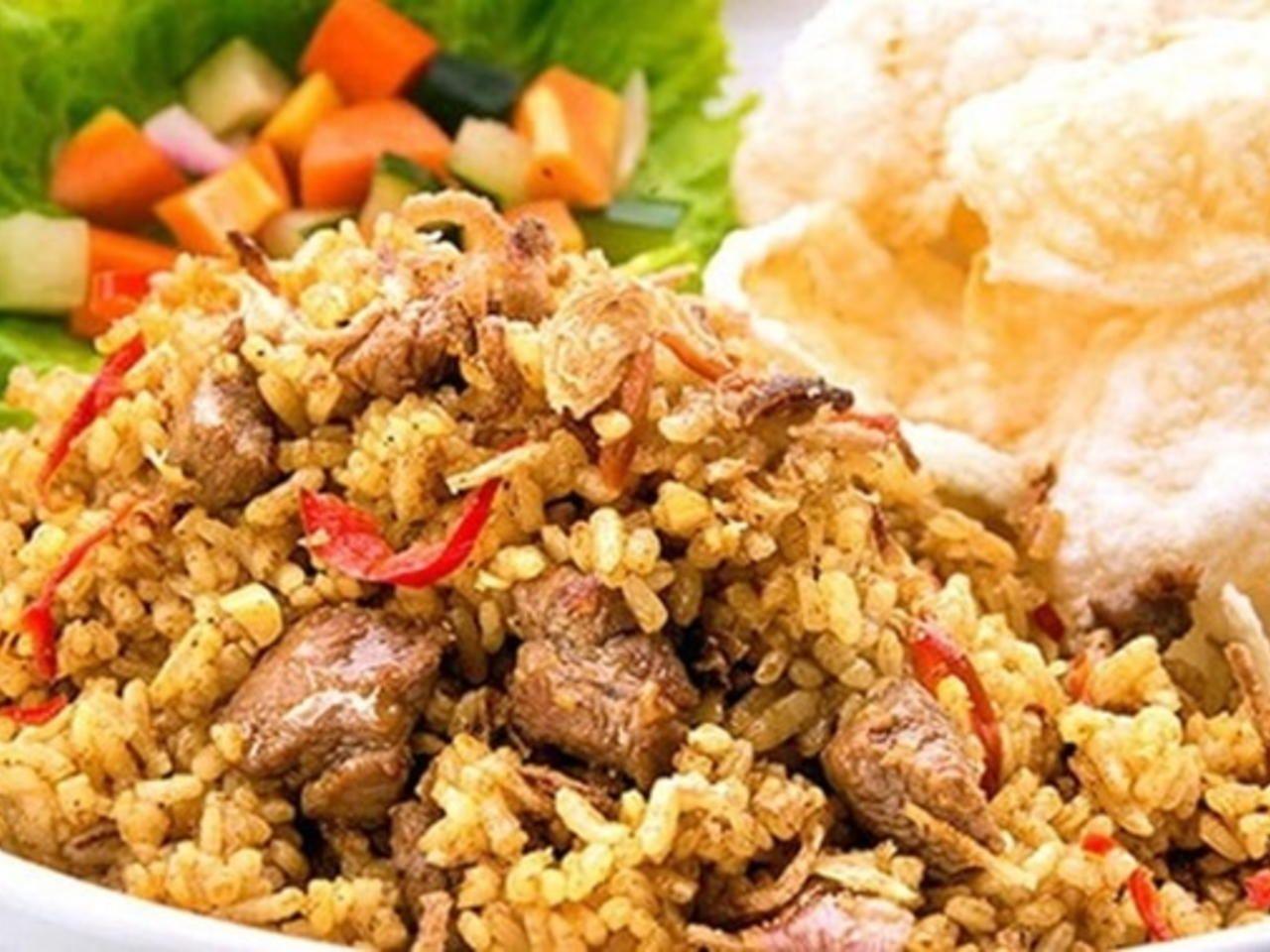 Resep Nasi Goreng Kambing Ala Kebon Sirih Bango Dan Cara Mengolah Nasi Goreng Daging Kambing Agar Tidak Bau Prengus Serta Resep Nas Resep Resep Masakan Masakan