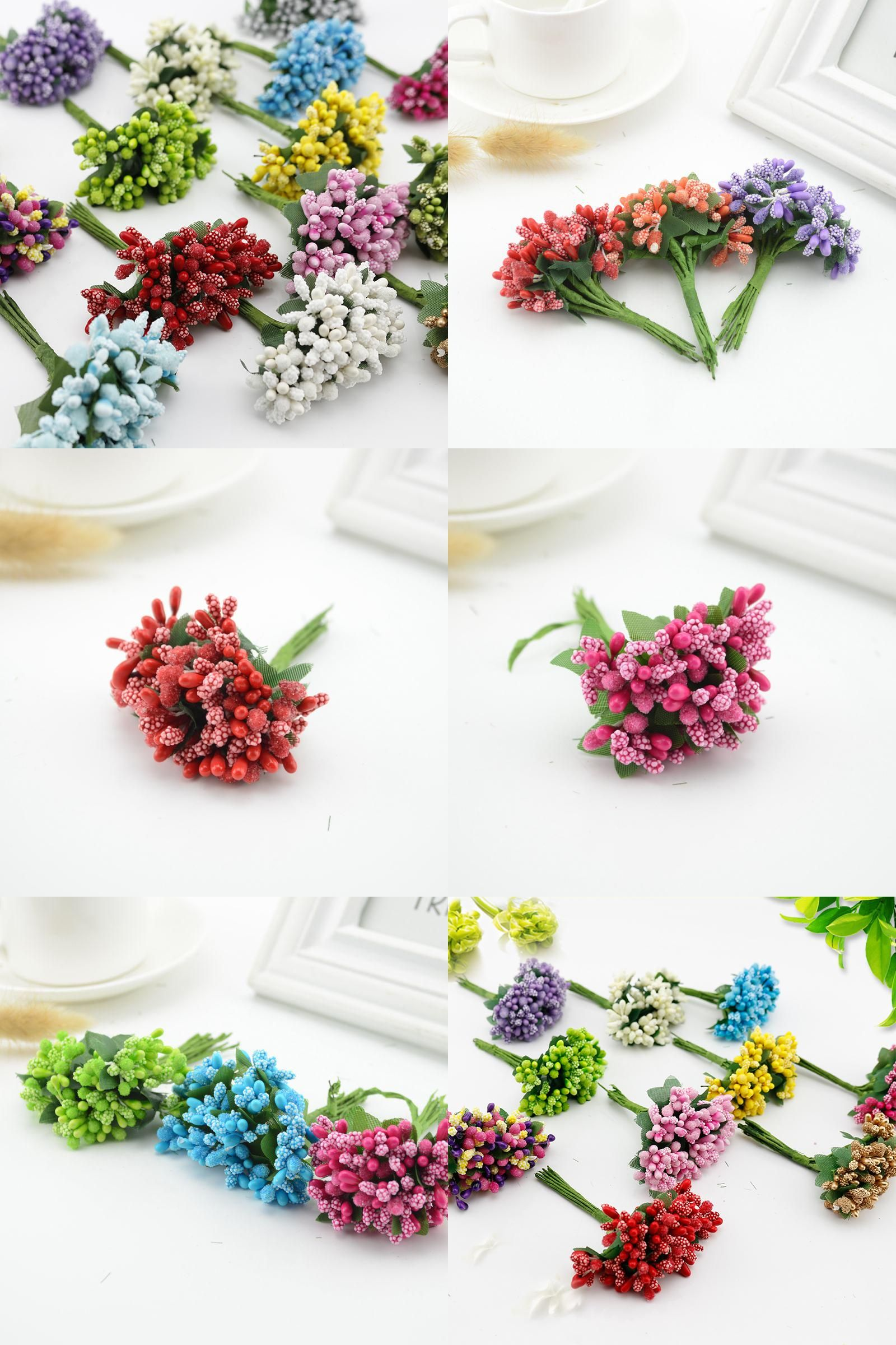 Visit to buy 12pcs mulberry silk party berry stamen leaf cheap visit to buy 12pcs mulberry silk party berry stamen leaf cheap artificial flowers decoration izmirmasajfo