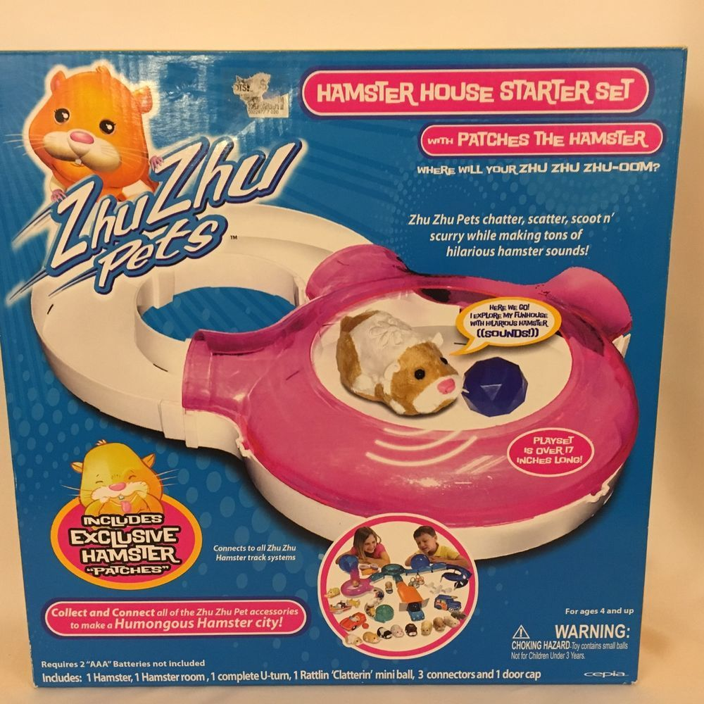 Zhu Zhu Pets Hamster House Starter Set Play Set Toy New Cepiallc Hamster House Playset Hamster