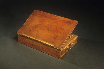 The Declaration Of Independence Desk Thomas Jefferson Lap Desk American History Museum