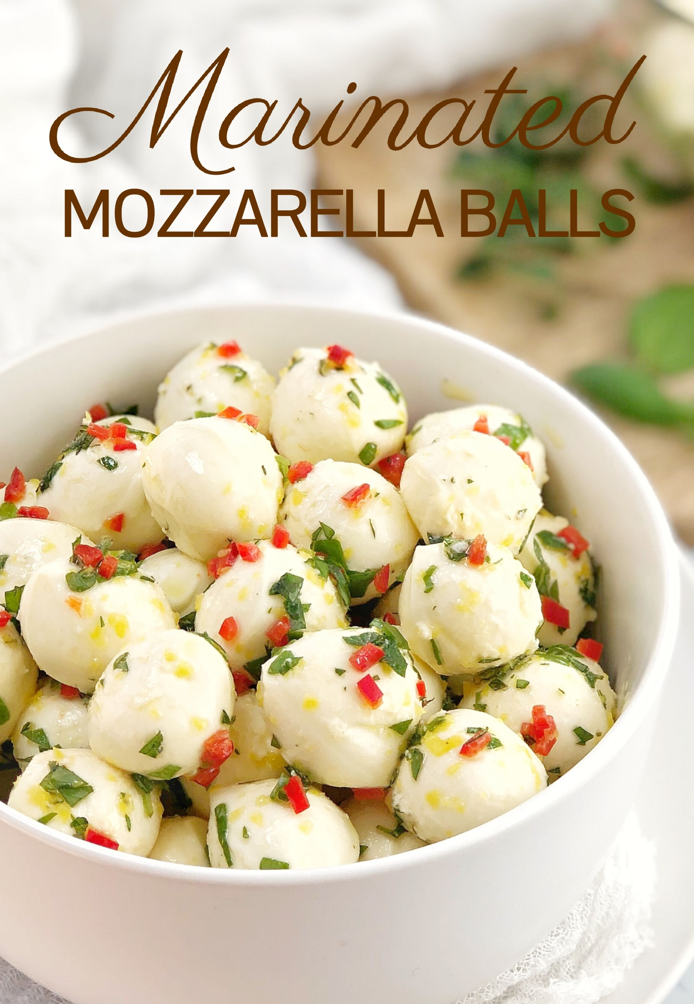 Photo of Cherry Bocconcini Balls with Chilli · Chef Not Required…