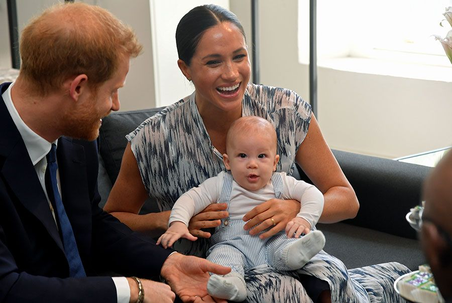 Prince Harry And Meghan Markle Take Baby Archie To Meet Desmond Tutu On Royal Tour Best Photos Prince Harry And Meghan Prince Harry Africa Tour