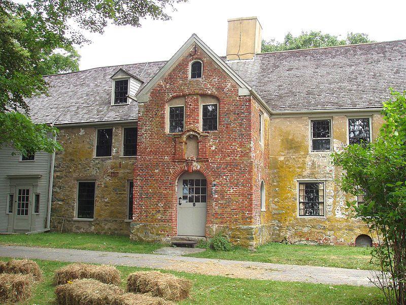 Spencer Pierce Little Farm, Newbury,Massachusetts c1683 ...