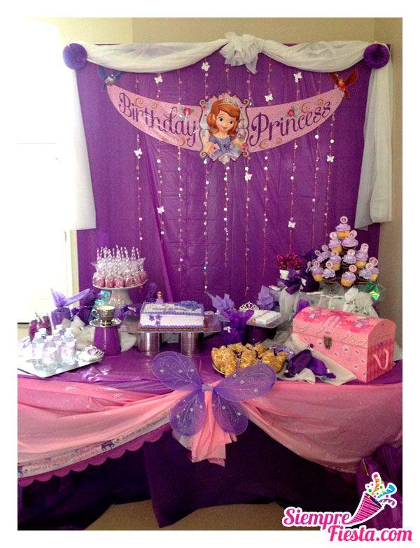 Bonitas ideas para tu pr xima fiesta de la princesa sof a - Todo para tu fiesta infantil ...