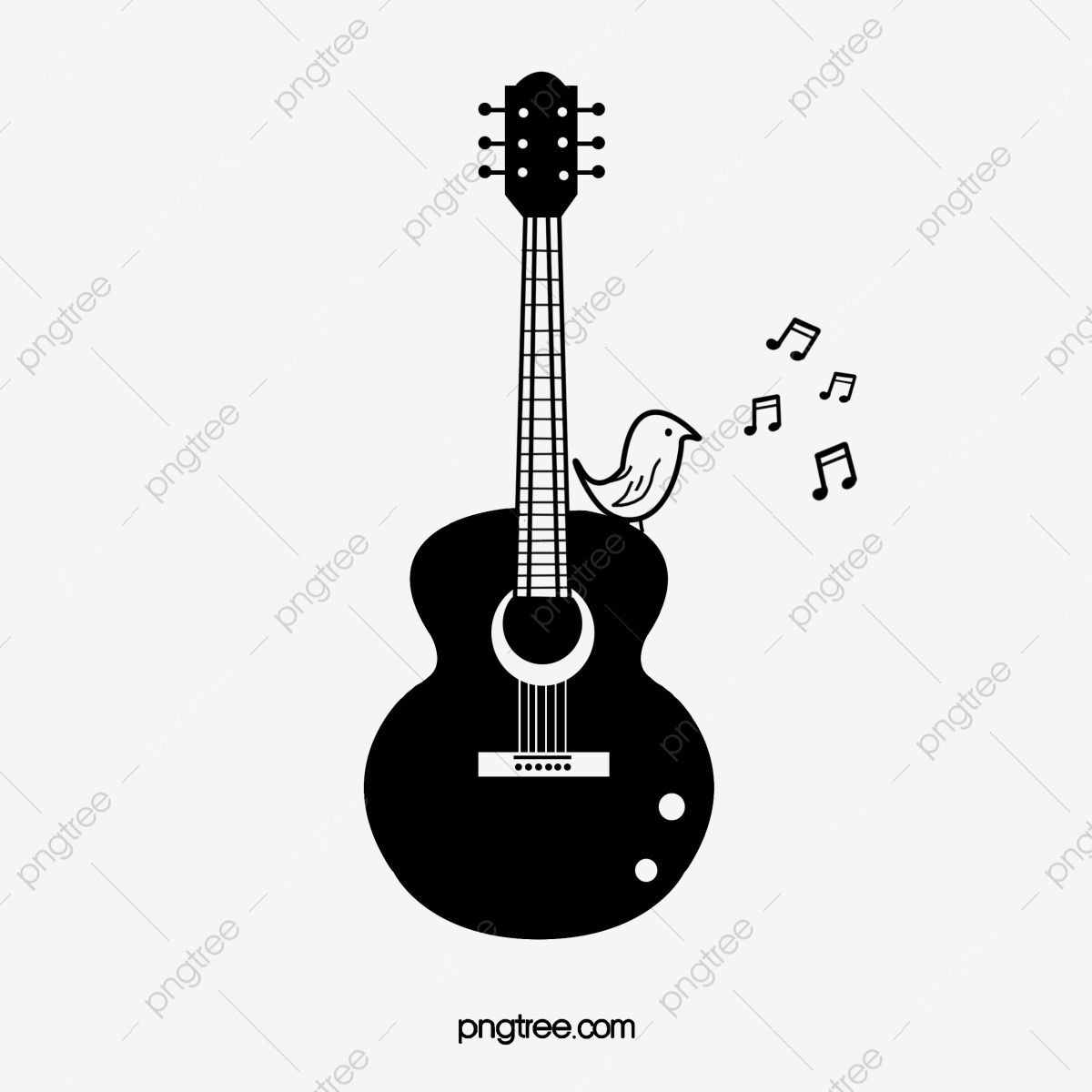 Guitar Guitar Clipart Hand Painted Guitar Cartoon Guitar Png Transparent Clipart Image And Psd File For Free Download In 2021 Guitar Clipart Guitar Painting Guitar