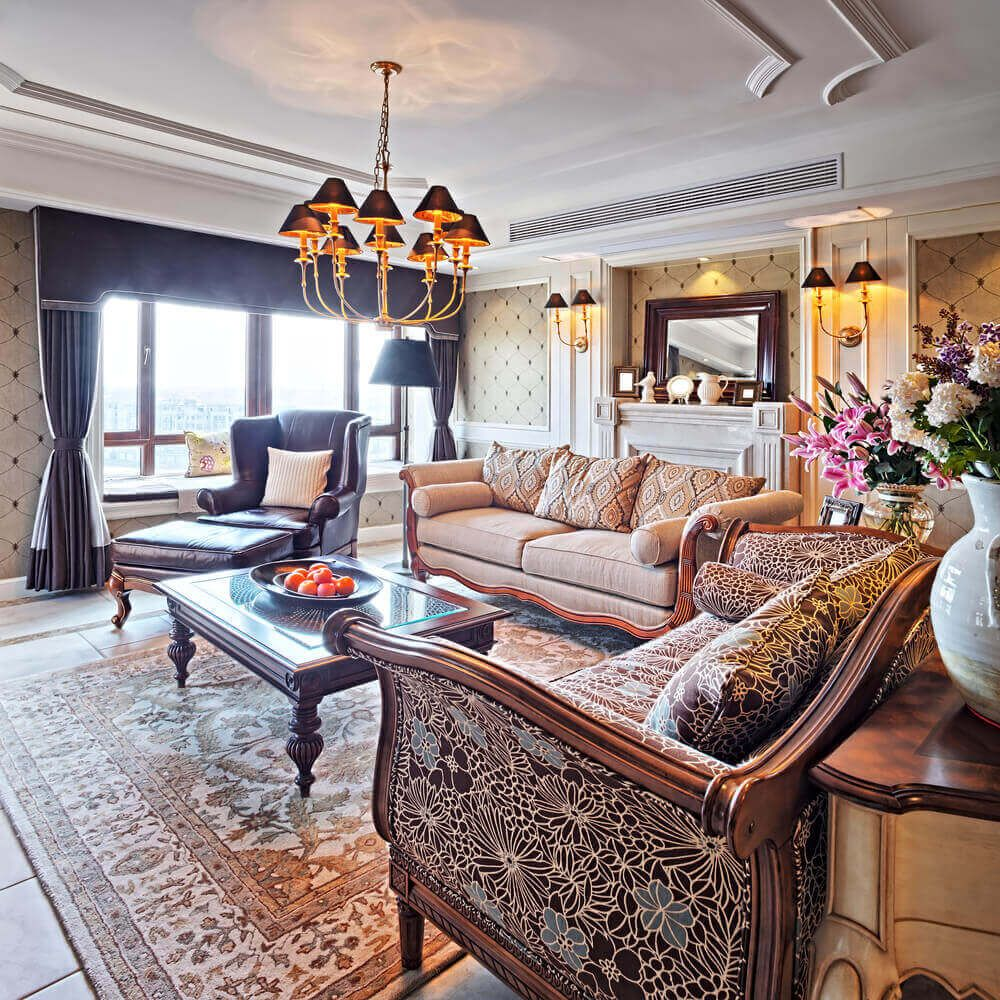 Home Design Ideas Classy: 36 Elegant Living Rooms That Are Richly Furnished
