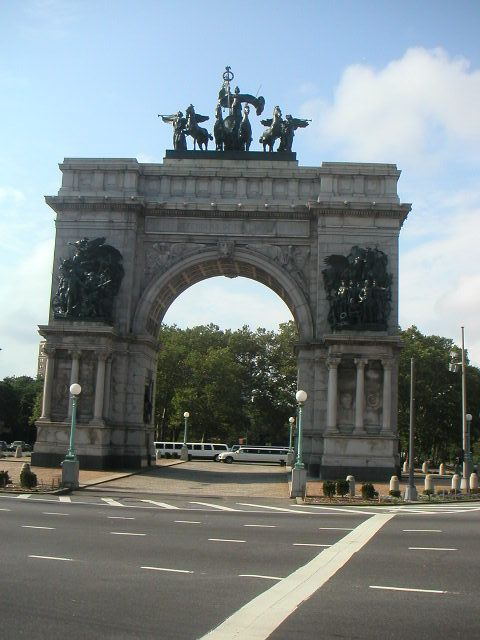 Prospect Park is a 585 acre (2.4 km²) public park in the New York City borough of Brooklyn